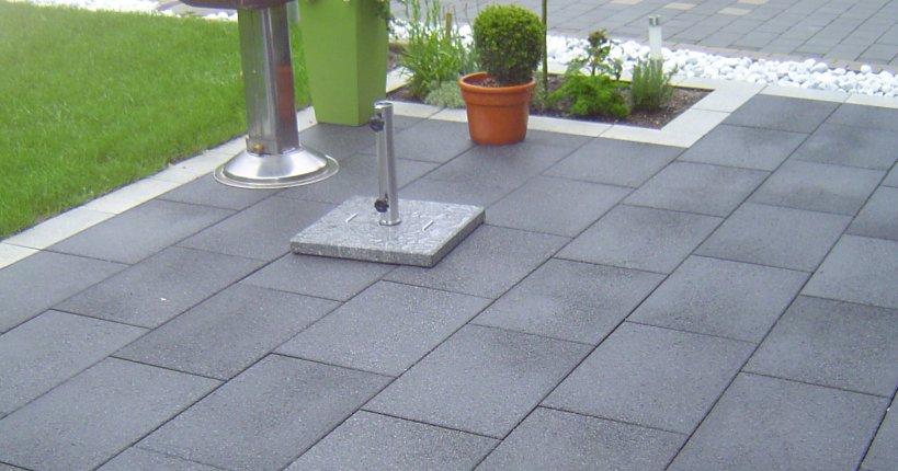 terrassenplatte betonwerk linden. Black Bedroom Furniture Sets. Home Design Ideas