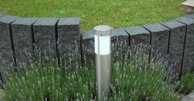 Montelith Felsstruktur Palisade Betonwerk Linden