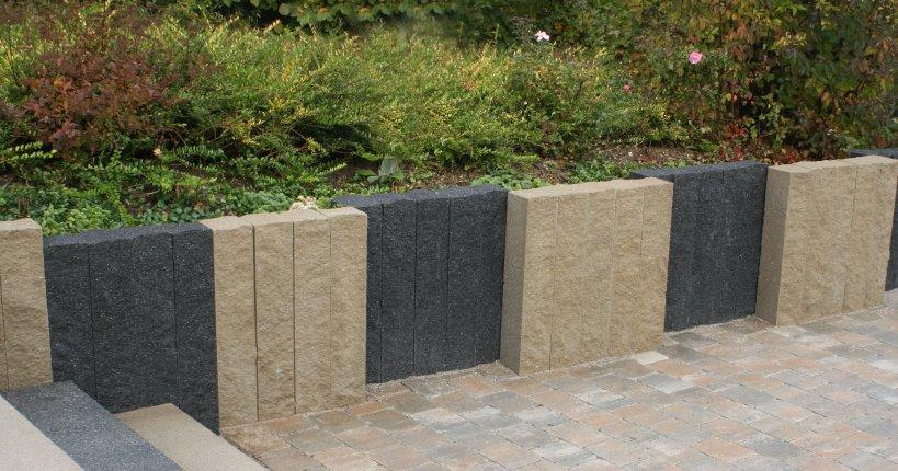 montelith felsstruktur palisade betonwerk linden. Black Bedroom Furniture Sets. Home Design Ideas