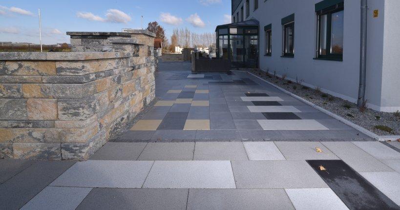 Terrassenplatte Rocaro Betonwerk Linden